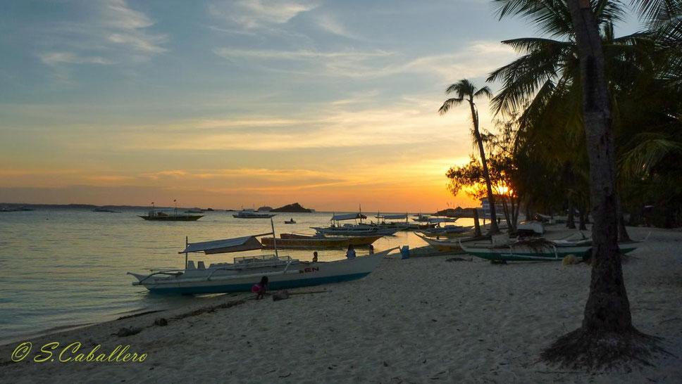 Sonnenuntergang Malapascua