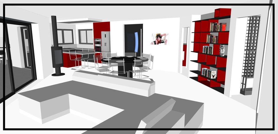 Decoration D Une Maison 140 M2 Dehens Amenagement D