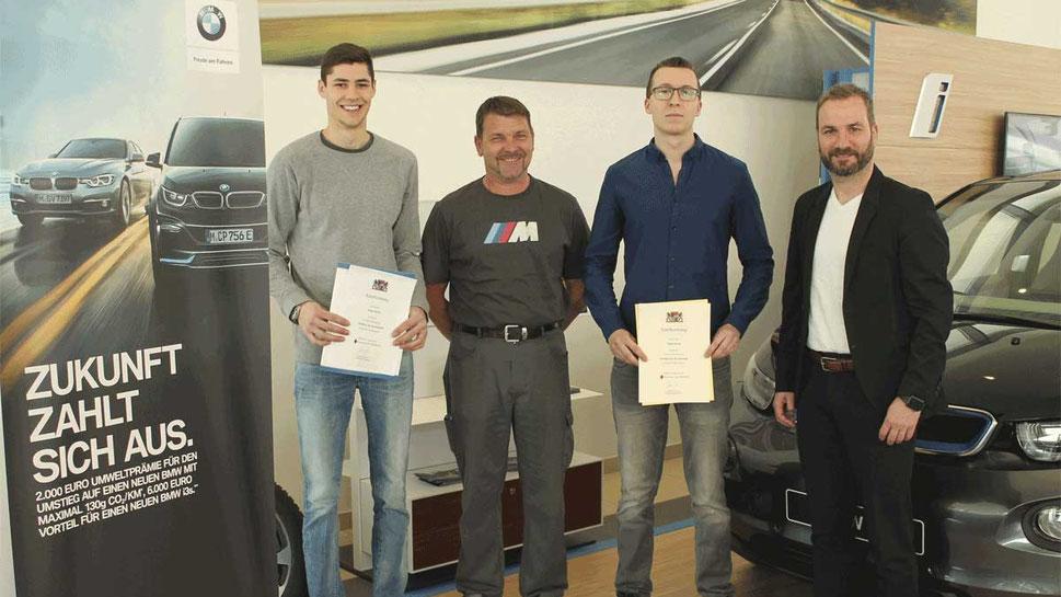 BMW Vogl Auszeichnung Beste Ausbildung