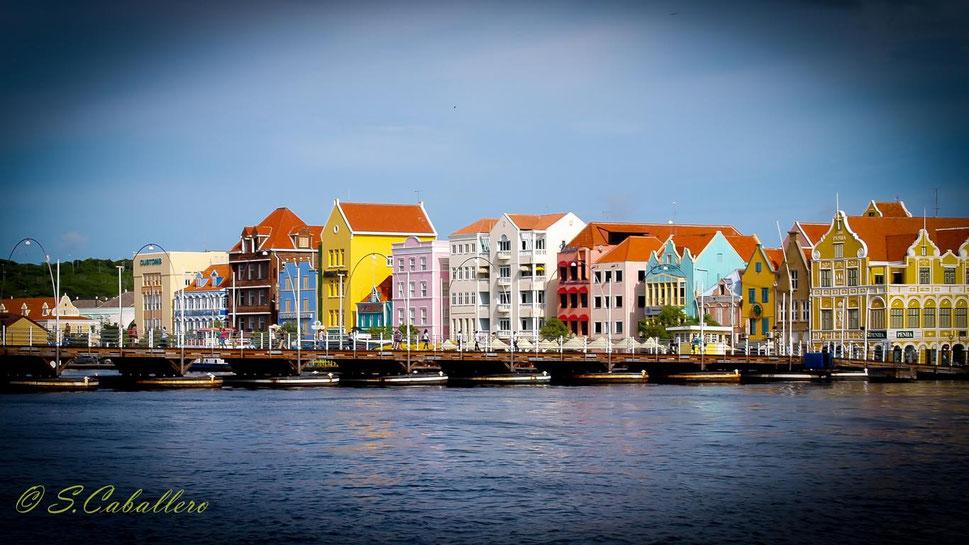 Blick auf Punda-Willemstad