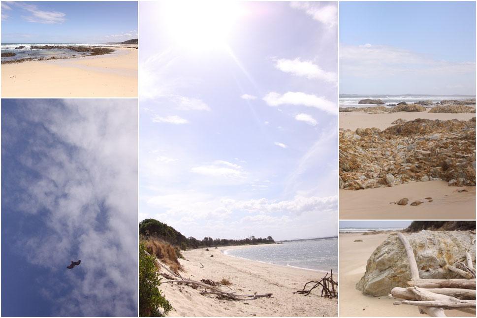 Brooms Head, und ein Strand in Yamba
