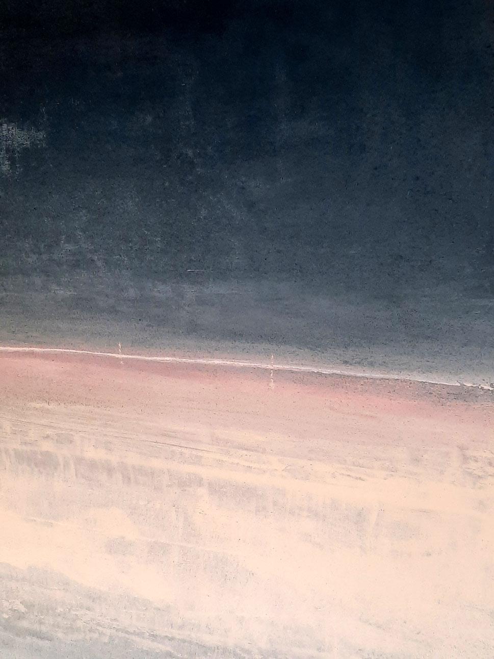 abstraktes Bild Landschaft