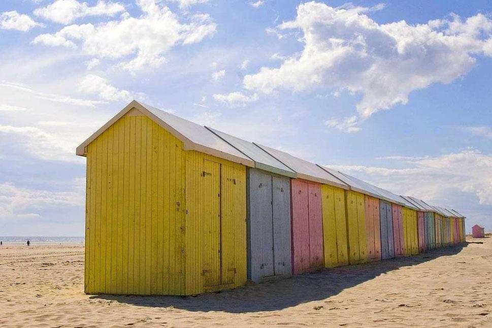 Best beach huts - Berck Sur Mer - Copyright Office du Tourisme de Berck-sur-mer