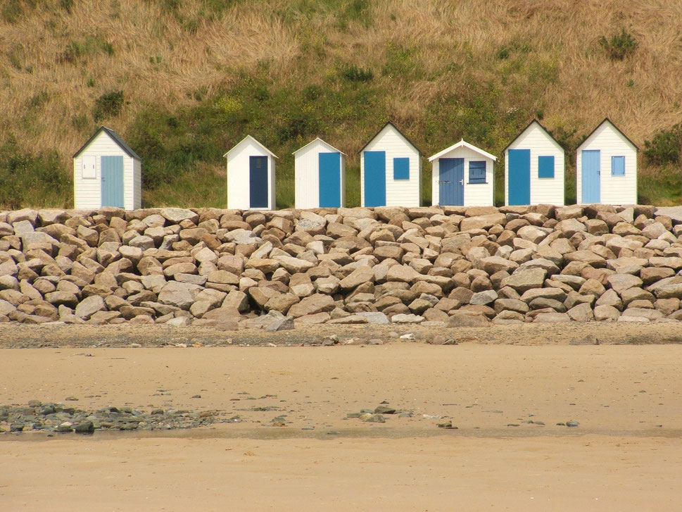 Best beach huts - Carteret-Barneville - Normandy - Copyright Eddie Olliffe - European Best Destinations