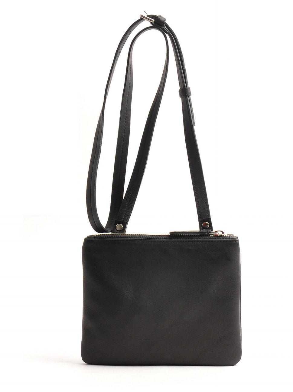 Trachtentasche Dirndl schwarz OWA Tracht Leder  Online-Shop