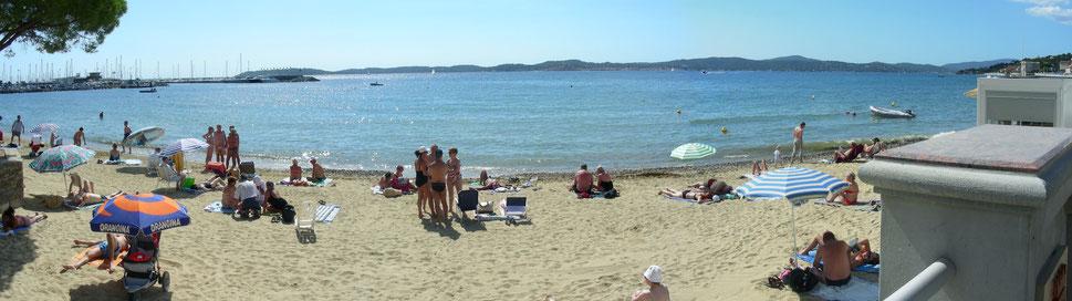 Strand von St. Maxime