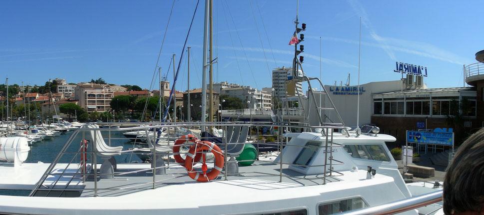 Hafen von St. Maxime