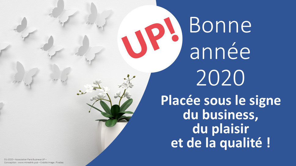 voeux 2020 Paris Business UP