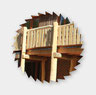 Bauen mit Rundholz, Zimmerei 862, Brake