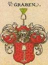 """Wappen Wolfgang von Graben aus der """"Kornberger Linie"""""""