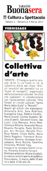 Articolo di Taranto BuonaSera del 4 marzo 2017.
