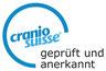 Cranio Suisse geprüft und anerkannt