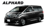 Alphard for Hire Car Japan