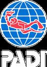 logo PADI Nusa Penida
