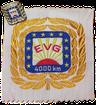 Kilometer-Abzeichen 4000 EVG