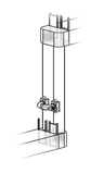 Vertical pipe implementation of the 2-Chamber-Organismbypass