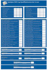 Spielplan des EWE-Cup-Turniers