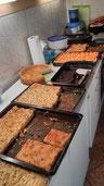 Blechkuchen bei Holli