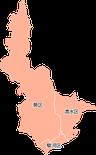 ポスティング静岡市(静岡県)配布部数表