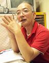 麹屋町くんち奉賛会副会長の西本和夫さん