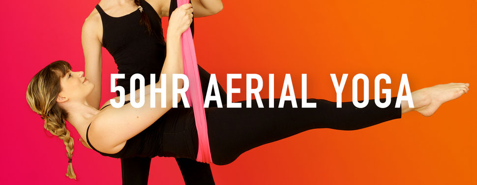 50hr Aerial Teacher Training - Om Factory - Aerial & Vinyasa Yoga in NYC