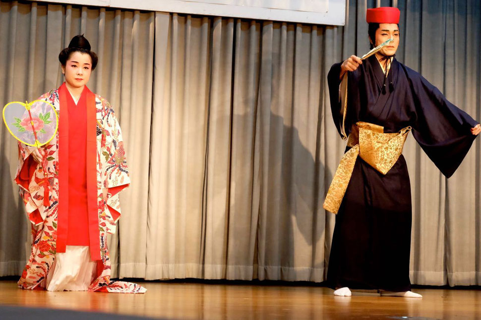 沖縄 結婚披露宴 かぎやで風節 舞踊