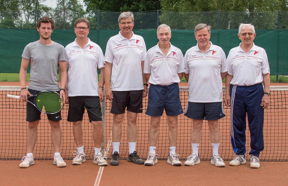 Neuer Vorstand der Sparte Tennis des MTSV Selsingen.