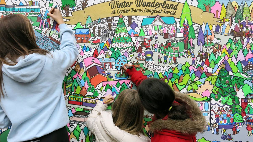 Giant colouring in