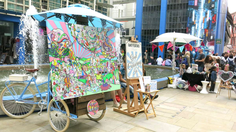 Colour in at the City of Colours Birmingham