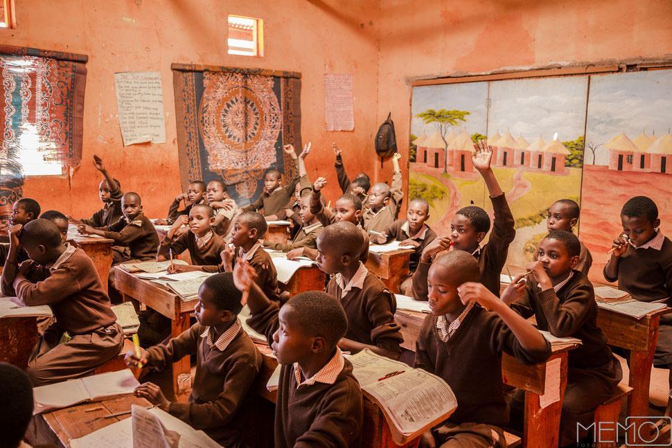 schule, bildung, afrika, kenia, chance