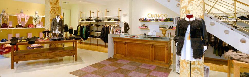 Bei Cult&Co finden Sie exklusive Damenmode von Designer-Marken. Unser Kleidungsgeschäft befindet sich in der Innenstadt von Ulm.