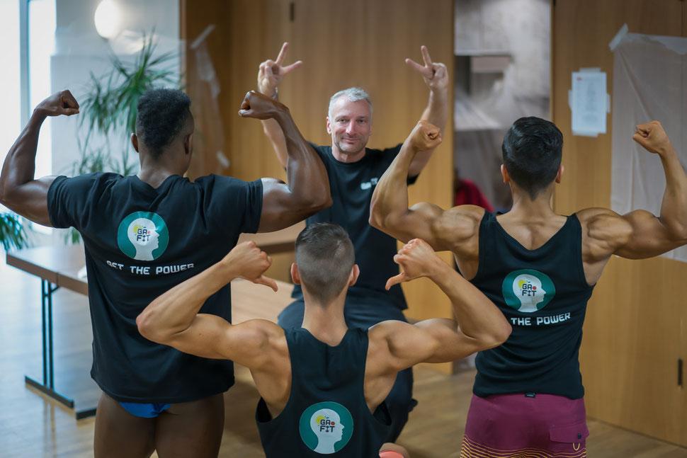 Die GaFit Athleten aus den Bereichen Bodybuilding und Men Physik, Men´s physique, Motorcross bilden das GaFit Team, welchen schon auf Internationalen und nationalen Meisterschaften Bodybuildingwettkämpfe gewonnen hat.