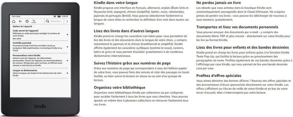 Liseuse Kindle Paperwhite 25 A La Commande Ce Mois Ci