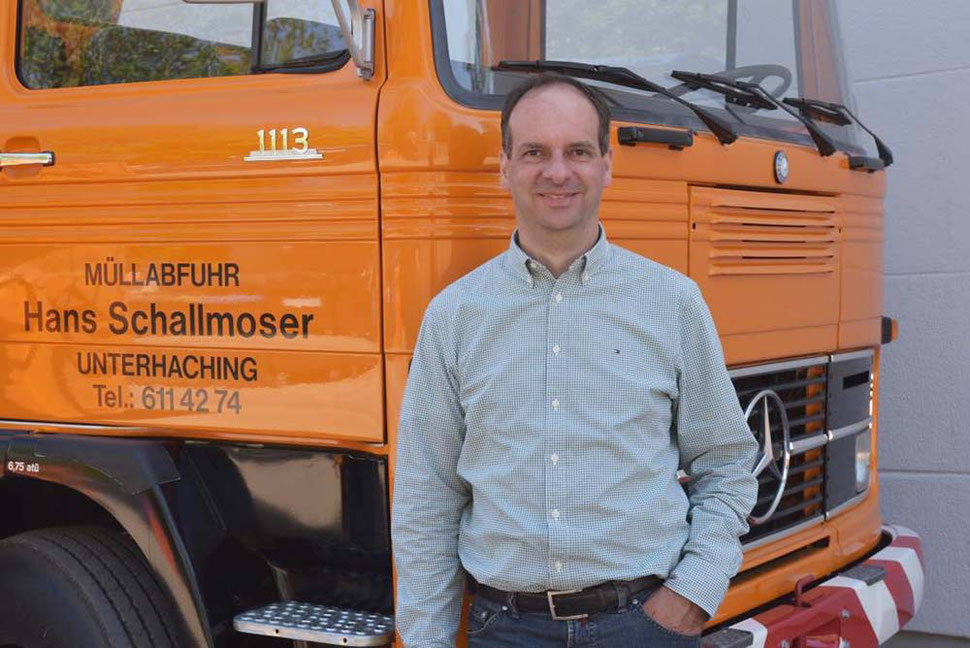 Hans Schallmoser, Geschäftsführer