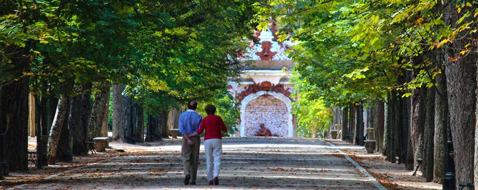 Fuentes y jardines del Palacio del Real Sitio de San Ildefonso