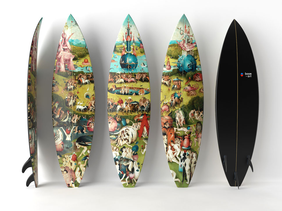 Bosh Triptych Surfboards