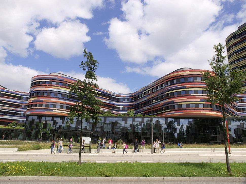 Wilhelmsburg, Baubehörde