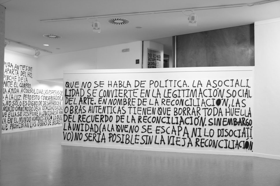 DE ADORNO | Acrilico sobre papel de dibujo Gvarro | 350 x 1500 Cm| 99 D.D.