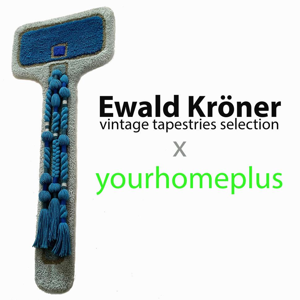Ewald Kröner Ewald kroner Schloss hackhausen wall rug carpet interior design yourhomeplus.de yourhomeplus 1970 1970s