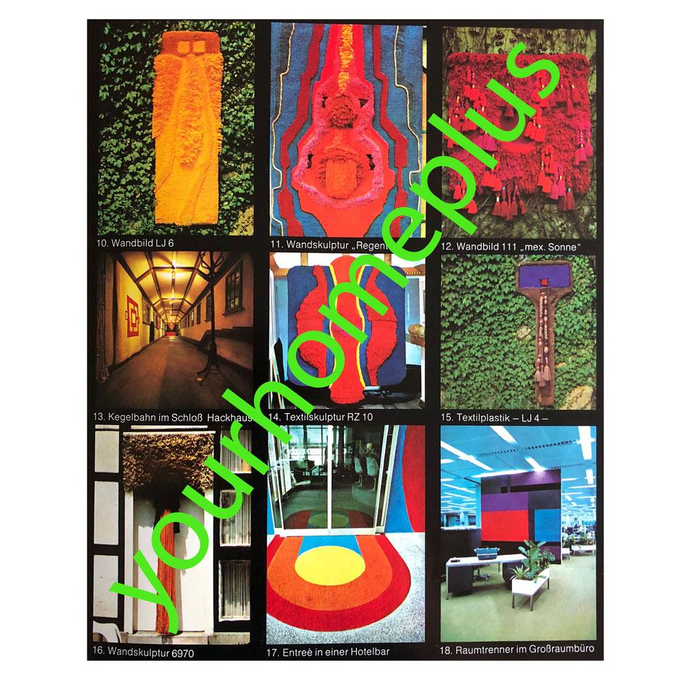 ewald kröner kröner wall rug hanging 1stdibs art vintage interior 1970s 1960s schloss hackhausend tapestry yourhomeplus yourhomeplus.de Schloss hackhausen