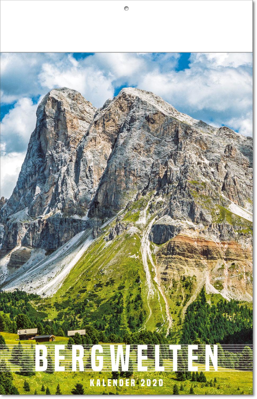 """Bildkalender """"Bergwelten"""" 2019"""