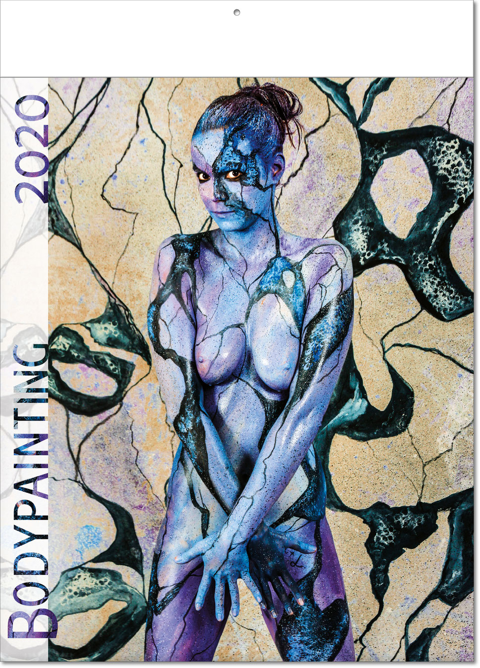 "Bildkalender ""Bodypainting"" 2019"