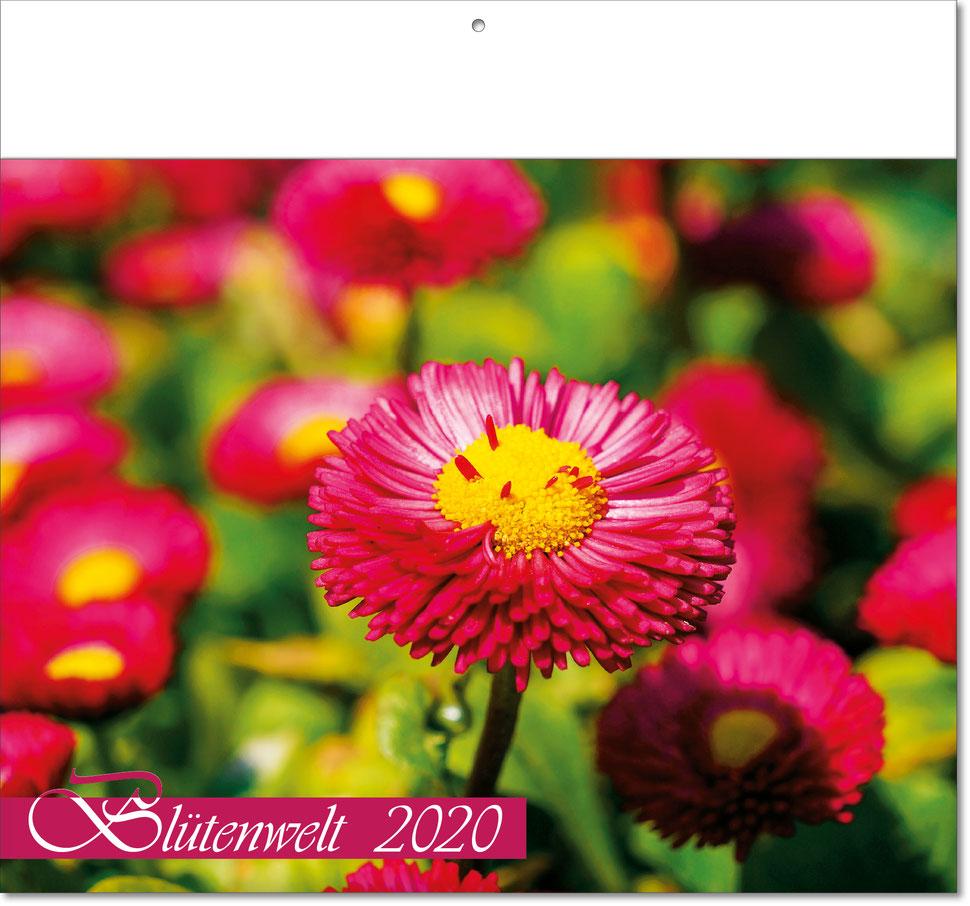 """Bildkalender """"Blumenwelt"""" 2019"""