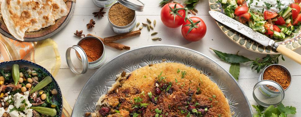 Pasta, Paella, Tapas, Antipasti und vieles Meer