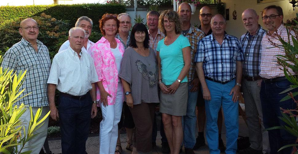 Die neue FBL Stadtratsfraktion mit alten und neuen Ausschussmitgliedern