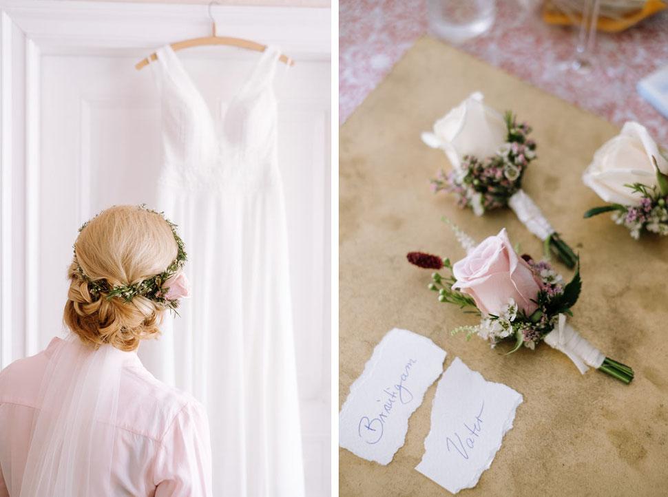 Altmark Hochzeit, Thomas Sasse, Hochzeitskleid, Hochzeitsfotograf Magdeburg, Stendal, Roexe, Tangermuende, Hochzeitskleid, Blumenschmuck
