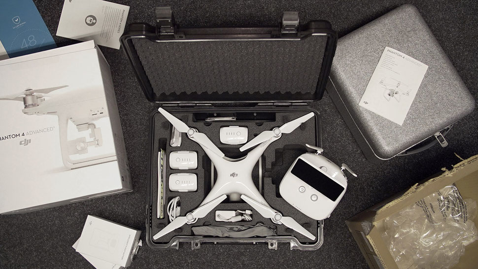 "Drohne ""DJI Phantom 4 Advanced Plus"""