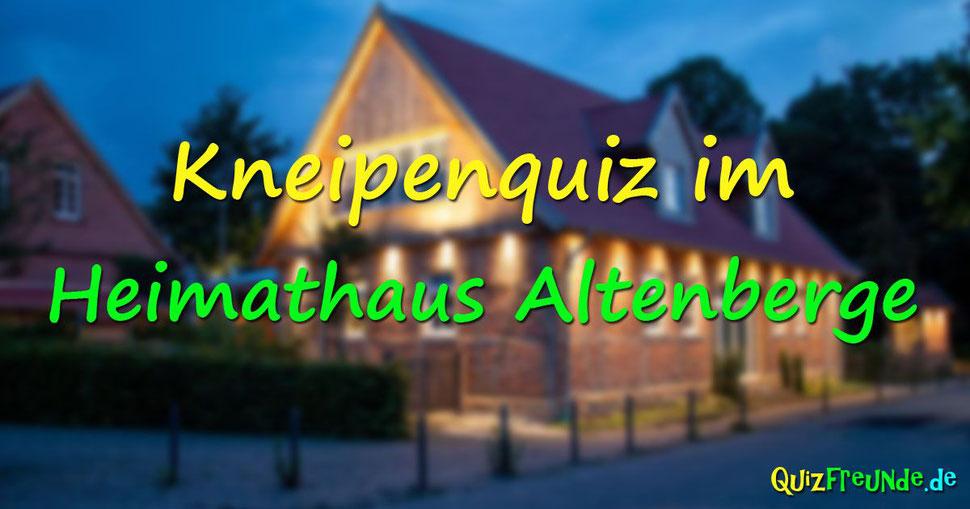 Kneipenquiz im Heimathaus Altenberge