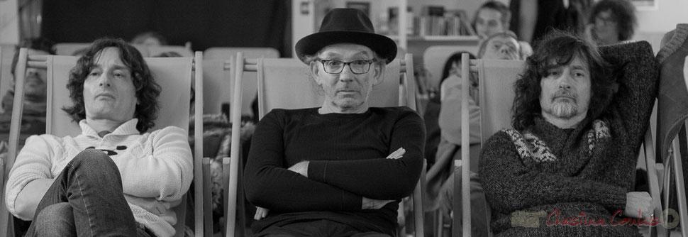 Jean-Luc Payssan (Minimum vital), Philippe Cauvin, Thierry Payssan, Marathon sonore, Intégrale de Philippe Cauvin. Rocher de Palmer, 12 décembre