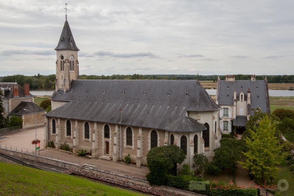 Chaumont-sur-Loire, Loir-et-Cher. Son église.